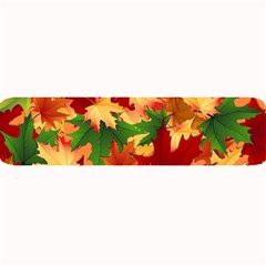 Autumn Leaves Large Bar Mats by Simbadda