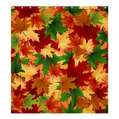Autumn Leaves Shower Curtain 66  X 72  (large)  by Simbadda