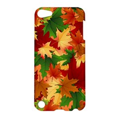 Autumn Leaves Apple Ipod Touch 5 Hardshell Case by Simbadda