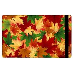 Autumn Leaves Apple Ipad 2 Flip Case by Simbadda