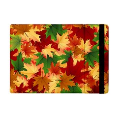 Autumn Leaves Apple Ipad Mini Flip Case by Simbadda