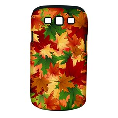 Autumn Leaves Samsung Galaxy S Iii Classic Hardshell Case (pc+silicone) by Simbadda