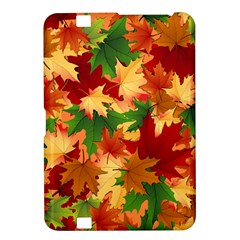 Autumn Leaves Kindle Fire Hd 8 9  by Simbadda