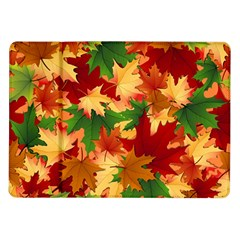 Autumn Leaves Samsung Galaxy Tab 10 1  P7500 Flip Case by Simbadda