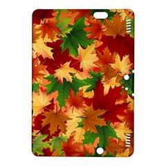 Autumn Leaves Kindle Fire Hdx 8 9  Hardshell Case by Simbadda