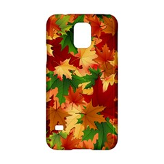 Autumn Leaves Samsung Galaxy S5 Hardshell Case  by Simbadda