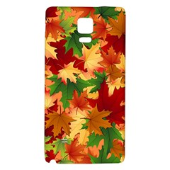 Autumn Leaves Galaxy Note 4 Back Case
