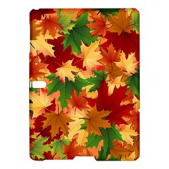 Autumn Leaves Samsung Galaxy Tab S (10 5 ) Hardshell Case  by Simbadda
