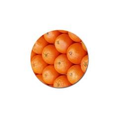 Orange Fruit Golf Ball Marker (4 Pack) by Simbadda