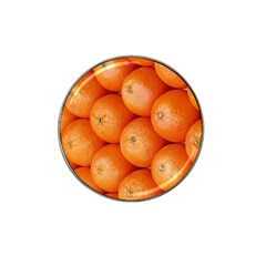 Orange Fruit Hat Clip Ball Marker (10 Pack) by Simbadda
