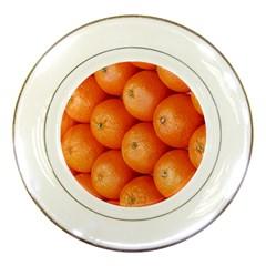 Orange Fruit Porcelain Plates by Simbadda