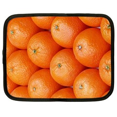 Orange Fruit Netbook Case (xl)  by Simbadda