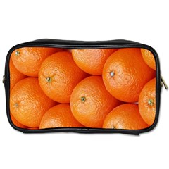 Orange Fruit Toiletries Bags 2 Side by Simbadda