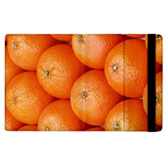Orange Fruit Apple Ipad 2 Flip Case by Simbadda