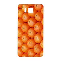 Orange Fruit Samsung Galaxy Alpha Hardshell Back Case by Simbadda
