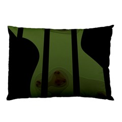 Fractal Prison Pillow Case (two Sides) by Simbadda