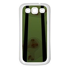 Fractal Prison Samsung Galaxy S3 Back Case (white) by Simbadda
