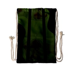 Fractal Prison Drawstring Bag (small) by Simbadda