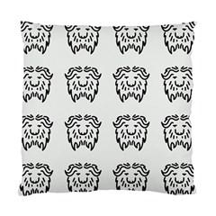 Animal Bison Grey Wild Standard Cushion Case (one Side) by Alisyart