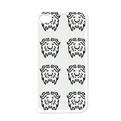 Animal Bison Grey Wild Apple Iphone 4 Case (white) by Alisyart