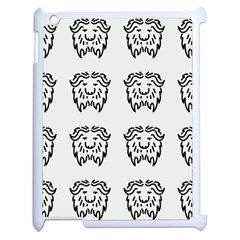 Animal Bison Grey Wild Apple Ipad 2 Case (white) by Alisyart