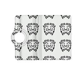 Animal Bison Grey Wild Kindle Fire Hd (2013) Flip 360 Case by Alisyart