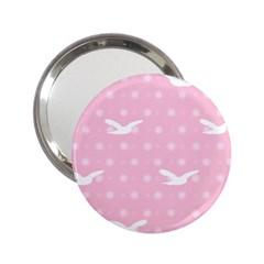 Wallpaper Same Palette Pink Star Bird Animals 2 25  Handbag Mirrors by Alisyart