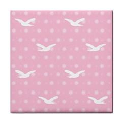 Wallpaper Same Palette Pink Star Bird Animals Face Towel by Alisyart