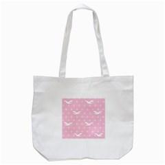 Wallpaper Same Palette Pink Star Bird Animals Tote Bag (white) by Alisyart