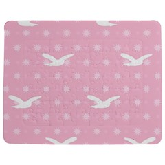 Wallpaper Same Palette Pink Star Bird Animals Jigsaw Puzzle Photo Stand (rectangular) by Alisyart