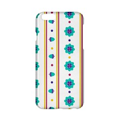 Beans Flower Floral Blue Apple Iphone 6/6s Hardshell Case by Alisyart