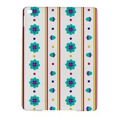 Beans Flower Floral Blue Ipad Air 2 Hardshell Cases by Alisyart