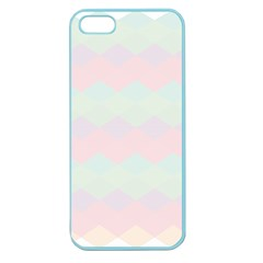 Argyle Triangle Plaid Blue Pink Red Blue Orange Apple Seamless Iphone 5 Case (color) by Alisyart