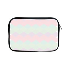 Argyle Triangle Plaid Blue Pink Red Blue Orange Apple Ipad Mini Zipper Cases by Alisyart