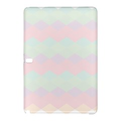 Argyle Triangle Plaid Blue Pink Red Blue Orange Samsung Galaxy Tab Pro 12 2 Hardshell Case by Alisyart