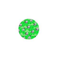 Animals Cow Home Sweet Tree Green 1  Mini Magnets by Alisyart