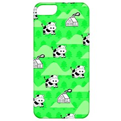 Animals Cow Home Sweet Tree Green Apple Iphone 5 Classic Hardshell Case by Alisyart