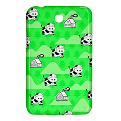 Animals Cow Home Sweet Tree Green Samsung Galaxy Tab 3 (7 ) P3200 Hardshell Case  by Alisyart