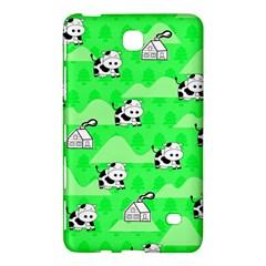 Animals Cow Home Sweet Tree Green Samsung Galaxy Tab 4 (8 ) Hardshell Case  by Alisyart