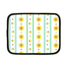 Beans Flower Floral Yellow Netbook Case (small)  by Alisyart