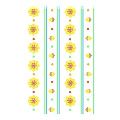 Beans Flower Floral Yellow Shower Curtain 48  X 72  (small)  by Alisyart