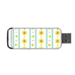 Beans Flower Floral Yellow Portable Usb Flash (two Sides) by Alisyart