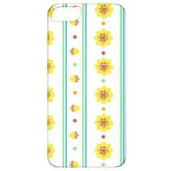 Beans Flower Floral Yellow Apple Iphone 5 Classic Hardshell Case by Alisyart