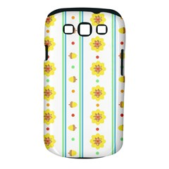 Beans Flower Floral Yellow Samsung Galaxy S Iii Classic Hardshell Case (pc+silicone) by Alisyart