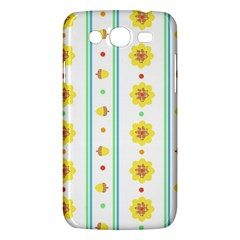 Beans Flower Floral Yellow Samsung Galaxy Mega 5 8 I9152 Hardshell Case  by Alisyart