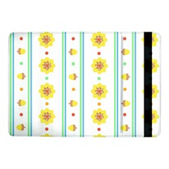 Beans Flower Floral Yellow Samsung Galaxy Tab Pro 10 1  Flip Case by Alisyart