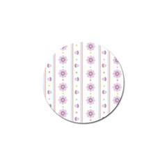Beans Flower Floral Purple Golf Ball Marker (4 Pack) by Alisyart