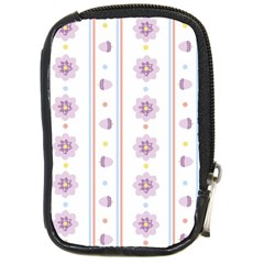 Beans Flower Floral Purple Compact Camera Cases by Alisyart