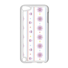 Beans Flower Floral Purple Apple Ipod Touch 5 Case (white) by Alisyart
