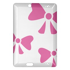 Bow Ties Pink Amazon Kindle Fire Hd (2013) Hardshell Case by Alisyart
